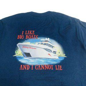 Tommy Bahama Mens Graphic T-Shirt Size M Medium TR